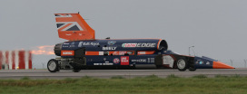 Bloodhound 1st public trial - Credit to Stephen Hunt - Spitfire productions