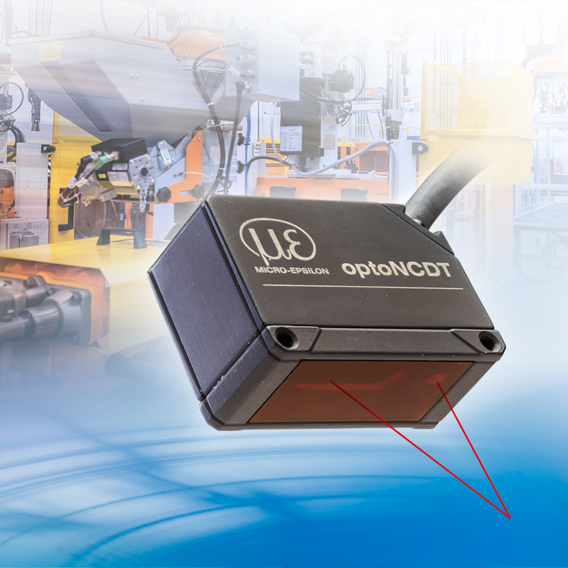 The entry-level optoNCDT 1220 laser sensor sets new standards in displacement and distance measurement in industrial automation.