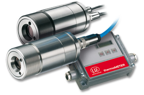 Infrared temperature sensors with integrated video