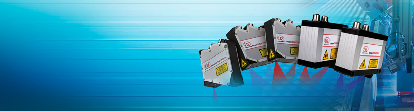 Compact laser profile sensors with integrated controller